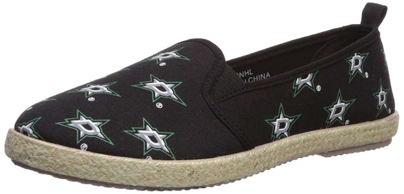 FOCO NHL Womens NHL Espadrille Canvas Shoe Womens