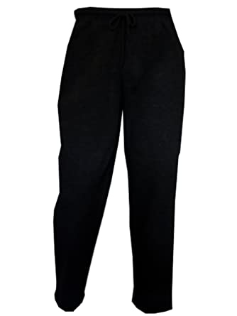 03162bd4f7 TB Clothing Ladies Womens Plain Fleece Jogging Bottoms Trousers Joggers  Sweat Pants Open Hem