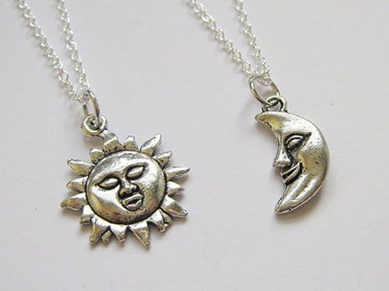 2 Best Friends colliers BFF Pendentif Soleil et Lune  Amazon.fr ... 77e2f9fa8f66