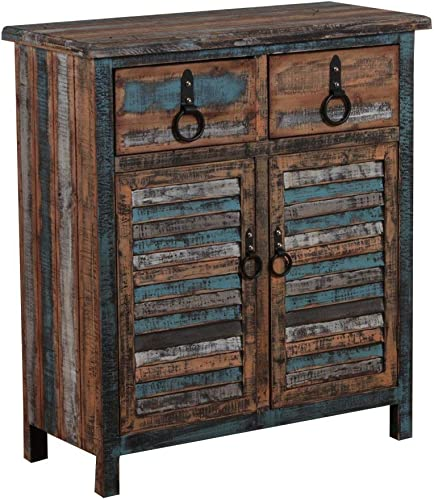 Powell Furniture Calypso Console 2-Drawers 2-Doors