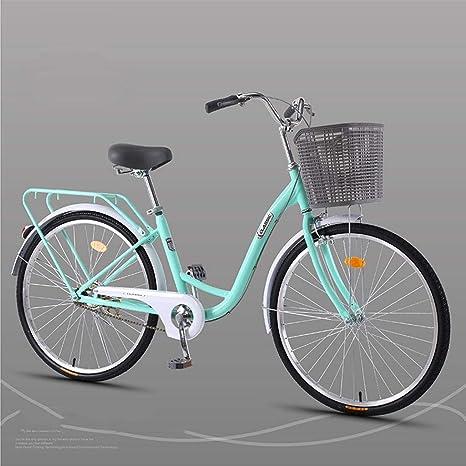 Bove Bicicleta Urbana 24 Inch Amortiguadores Bicicleta Doble ...