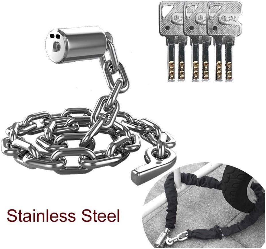 ステンレス鋼 ドアオートバイの保管やオートバイ用チェーンロック120 Cmの抵抗12トン油圧プライヤー 簡単インストール