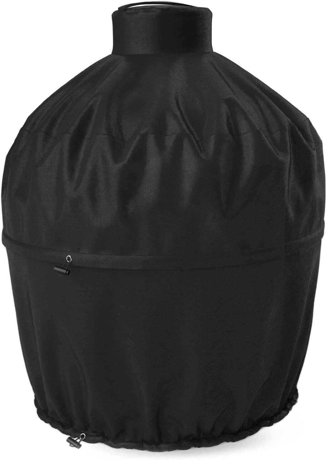 SHINESTAR Kamado Grill Cover for Large Big Green Egg, Kamado Joe Classic and Char-Griller, 2-in-1 Heavy Duty Waterproof Ceramic Grill Cover