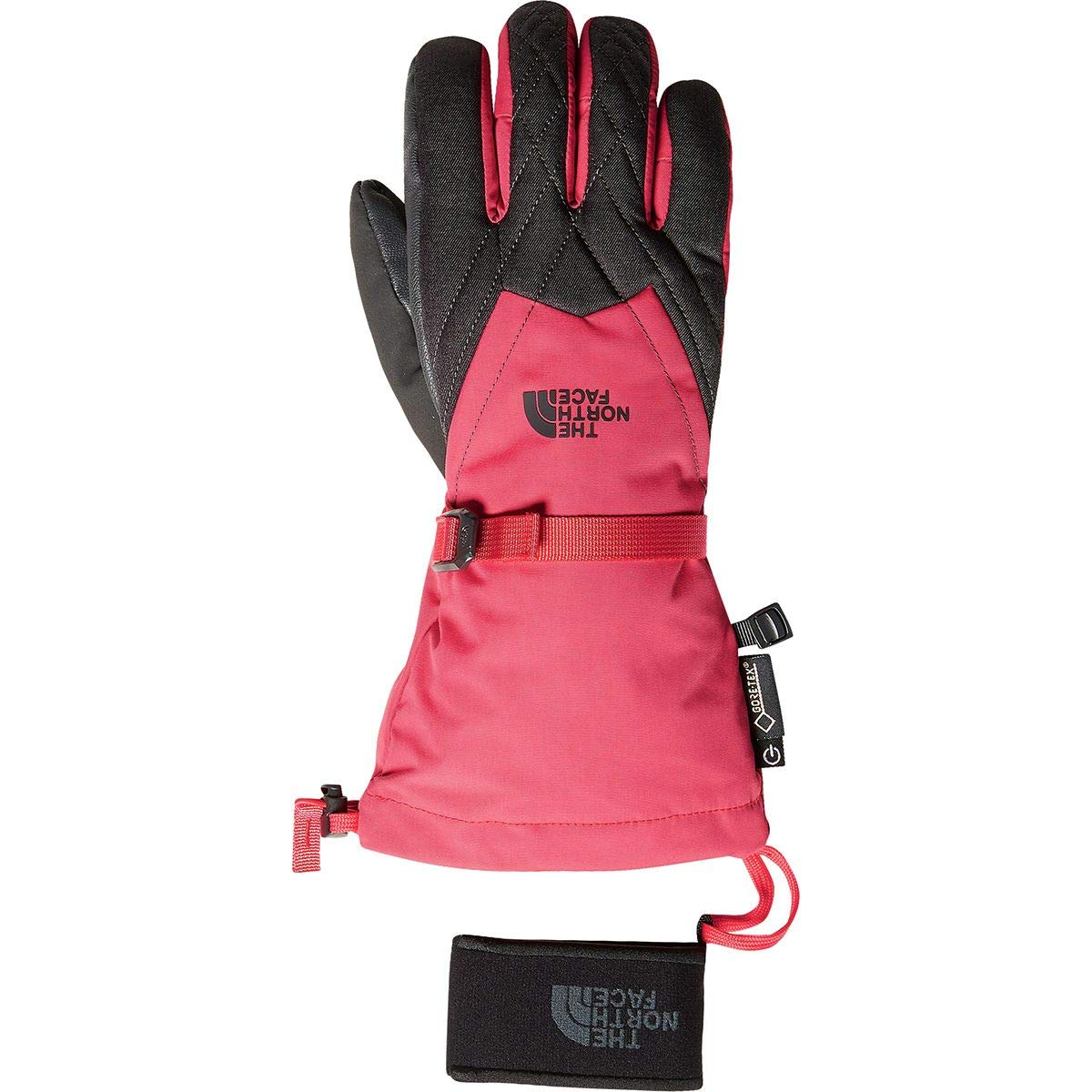 The North Face Women's Montana Gore-Tex¿ Gloves Teaberry Pink/Tnf Dark Grey Heather LG