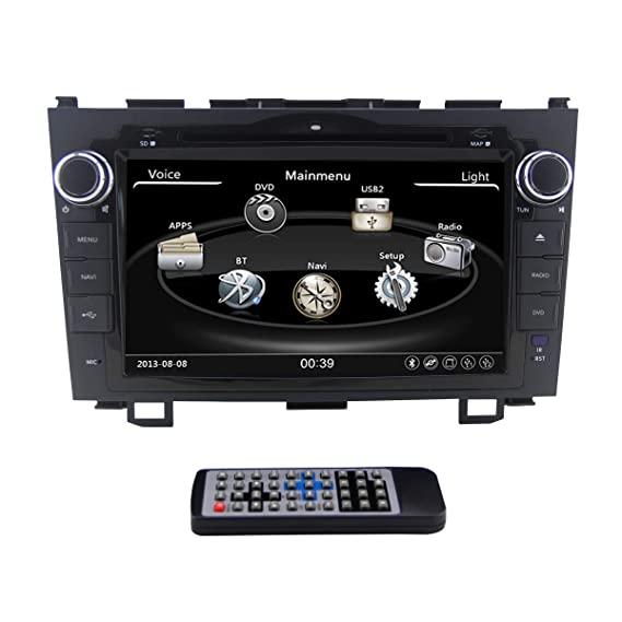 Zestech 8 inch Wince for HONDA CRV(2006-2011) In Dash HD Touch