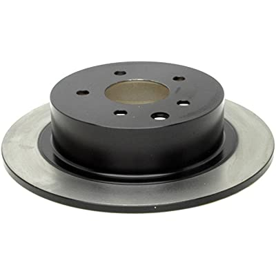 ACDelco 18A1321 Professional Rear Drum In-Hat Disc Brake Rotor: Automotive