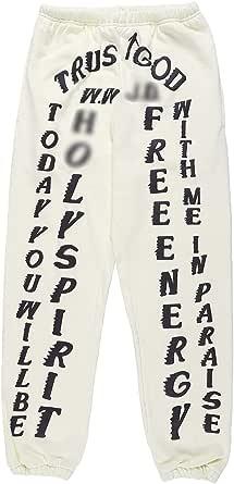 THE SCOTTS Men's Jogger Sweatpants Kanye Jogger Pant Sports Trousers with Pockets Elastic Waist