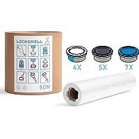 LOCKSMELL Nappy Bin Liner 50m Compatible con los