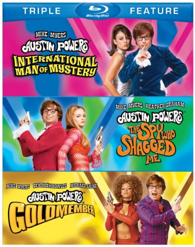 Austin Powers Triple Feature (International Man of Mystery / The Spy Who Shagged Me / Goldmember) [Blu-ray]