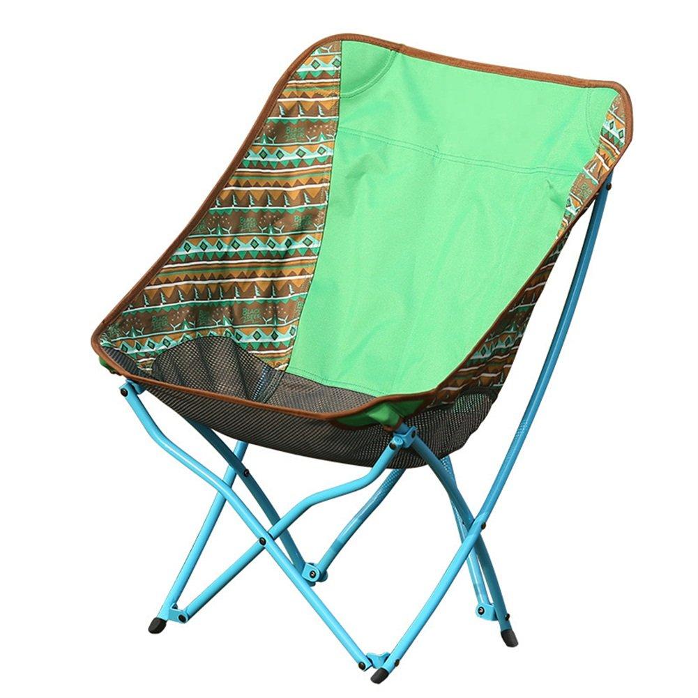 YJchairs Hocker klappbar Angeln Stühle Klappsitz Ultraleicht-Ergonomie Cosy Moon Stühle mit Rückenlehne für Camping Wandern Outdoor-Aktivitäten Anti-Rutsch