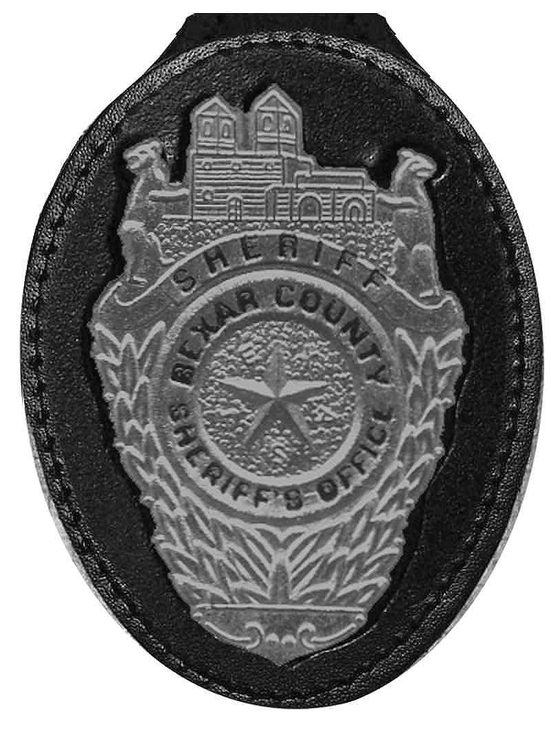 Bexar County Texas Sheriff Belt Clip Badge Holder