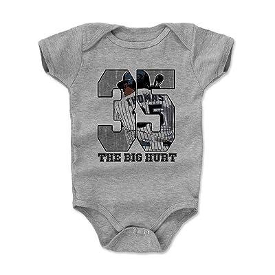 500 LEVEL Frank Thomas Baby Onesie - Vintage Chicago Baseball Baby Clothes - Frank Thomas Game
