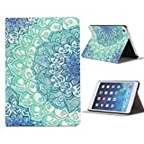 Coromose Floral Pattern Flip Stand Leather Case Cover For iPad Mini 1 2 3 Retina