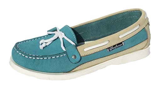b79b80c19c Image Unavailable. Image not available for. Colour  Womens Leather SEAFARER  Smart Boat ...