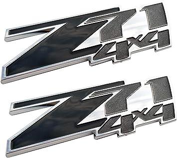 Chrome Silverado Tailgate Nameplate Emblem Badge 1500 2500HD 3500
