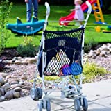 Stroller Net Bag -- For Prams, Buggies & Strollers -- One size (Navy) by Clippasafe