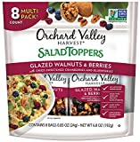 Cheap ORCHARD VALLEY HARVEST Salad Toppers, Glazed Walnuts & Berries, Non-GMO, No Artificial Ingredients, 0.85 oz (Pack of 8)