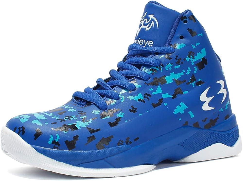 DAYATA Zapatillas de Baloncesto con Estampado de Camuflaje para ...