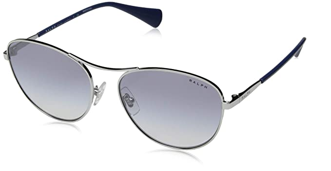 Ralph Lauren RALPH BY 90017B Gafas de sol, Silver, 57 para ...