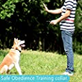 Felyong Dog Training Collar Shock Collar for Dogs with Rechargeable and Waterproof Dog Collar No Barking with Beep Vibration and Shock Harmless E Collar for Small Medium Large Dog, 1000ft Remote
