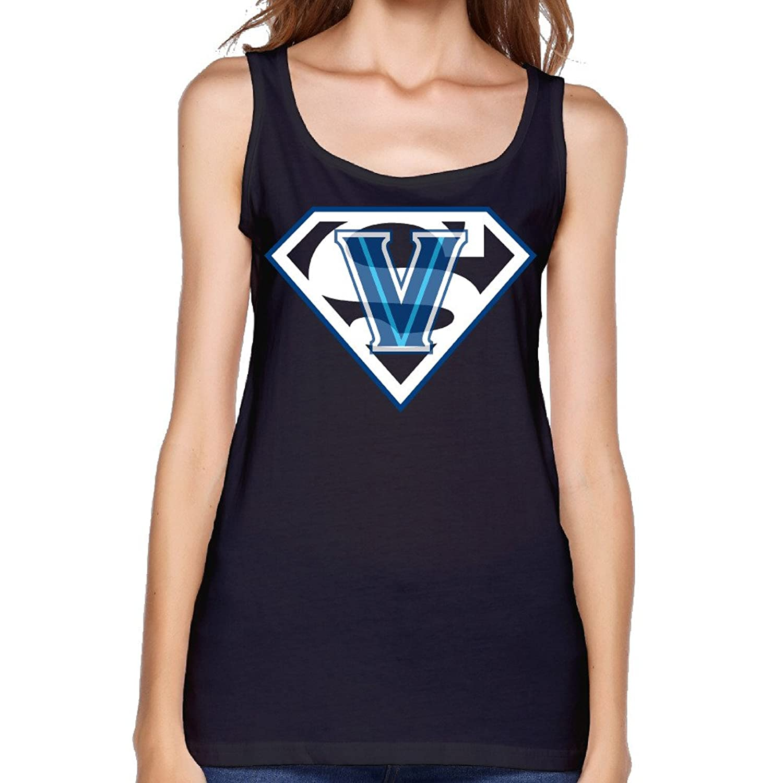 Women's NCAA Villanova Wildcats Basketball Superman Tank Top-