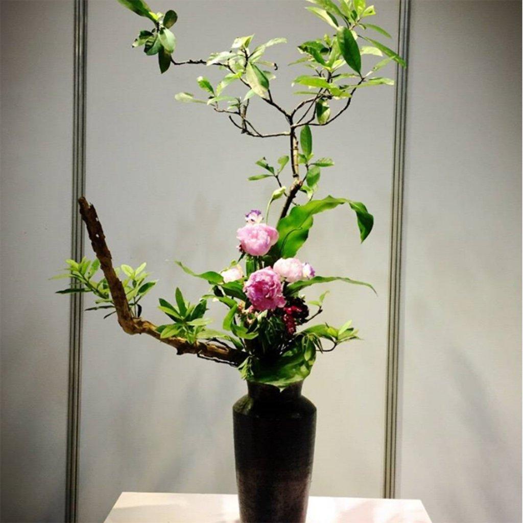 FLAMEER 4 Unidades Arreglo de Flores Plantas Ikebana Decoración de Casa DIY: Amazon.es: Jardín