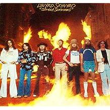"Lynyrd Skynyrd - Street Survivors - 12"" vinyl LP - original 1977 Flames Cover complete with inner sleeve & 2 inserts MCA-3029"