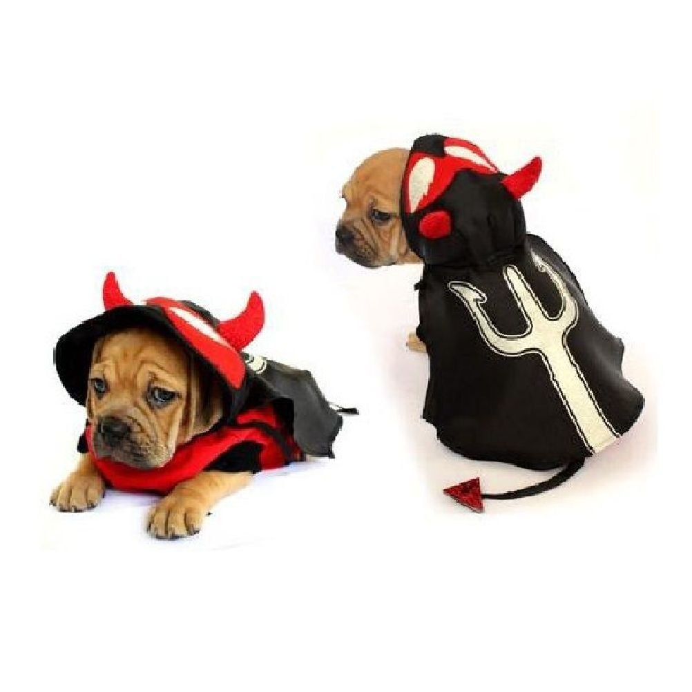 Dog Costume Devil Costumes Dress Your Dogs Puppy Red Devils Satan