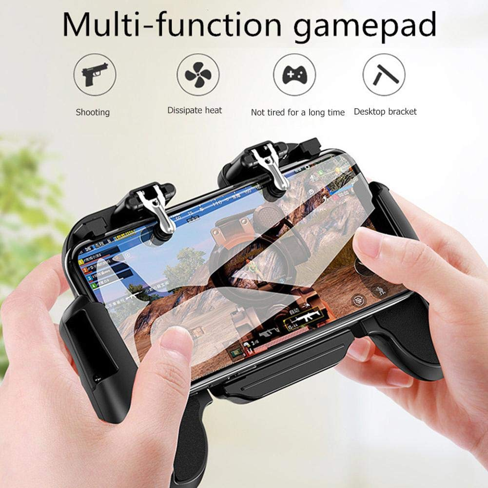 youtiankai Fan H5 Cooler Cooling Fan Gamepad Phone Controller Hand Grip for PUBG Mobile