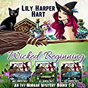 Wicked Beginning: An Ivy Morgan Mystery, Books 1-3 Audiobook by Lily Harper Hart Narrated by Angel Clark