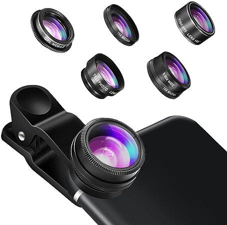 Kamera Objektiv Hizek 5 In 1 Objektiv Set Smartphone Kamera