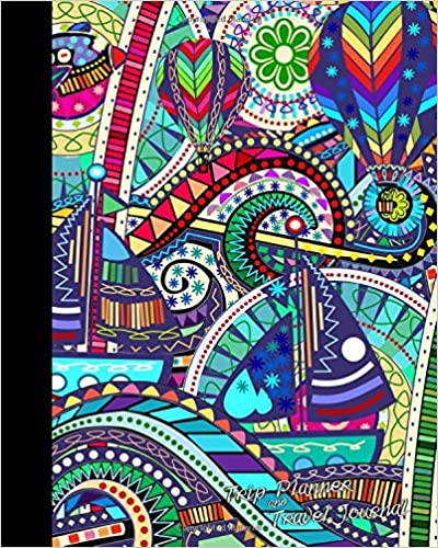trip planner and travel journal vacation planner and diary for 4