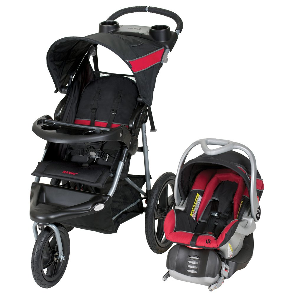 Baby Trend Expedition Jogger Travel System, Bubble Gum TJ94044