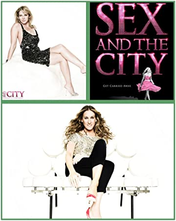 Amazon.com: 054 Sex and the City 14 x 17 inch cartel de seda ...