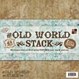 Diecuts with a View Old World 12 inches by 12 inches Paper Stack (pack of 3)