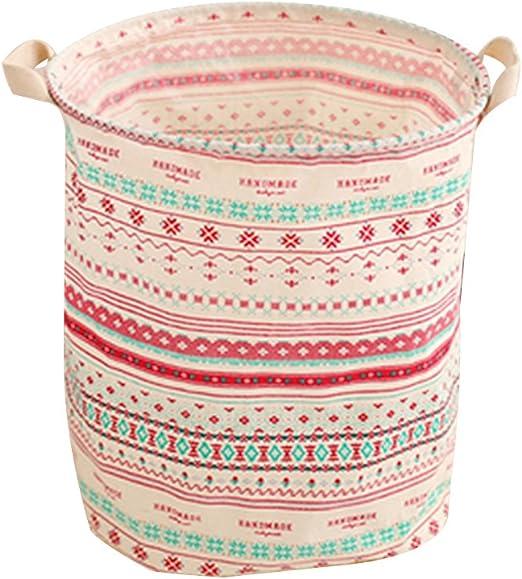 Grande de Algodón Tela de lino ropa de barriles para ropa sucia ...
