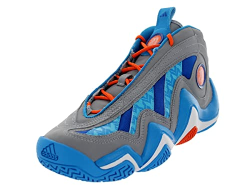 Adidas Crazy 97 - Zapatillas de Baloncesto para Hombre, Gris (Midgrey/Solar Blue/Orange), 13 D(M) US: Amazon.es: Zapatos y complementos