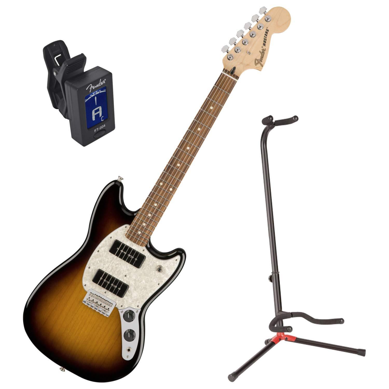 Fender Mustang de la serie Offset 90 PF 2tsb guitarra eléctrica w ...