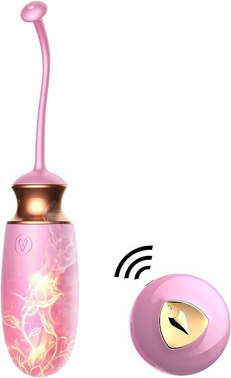 Imagen deFIDECH Vibrador para Mujeres con Mando a Distancia por voz de 15M, Consoladores Sexuales Estimulador de Clítoris Punto G con 10 Modos, Juguete Eróticos para Parejas o Solos