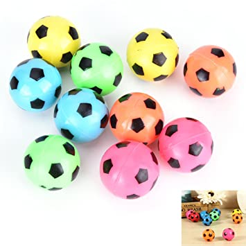 littlepiano 10 pcs/Set Bouncing Football – Balón de fútbol ...