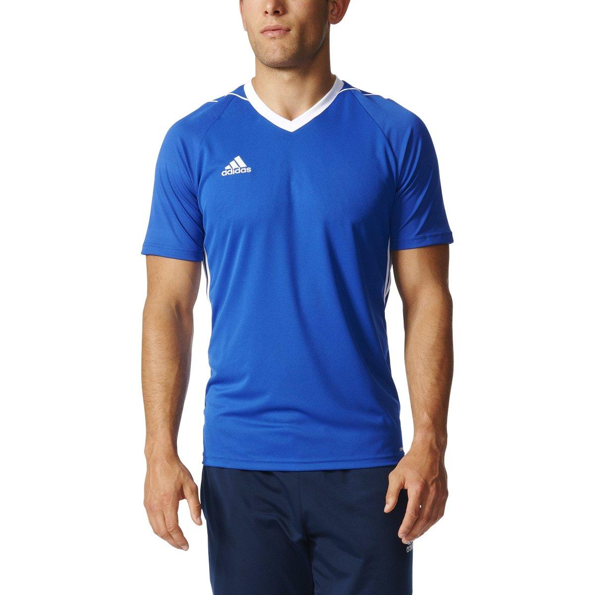 Adidas Tiro 17 Mens Soccer Jersey XS Bold Blue/White by adidas