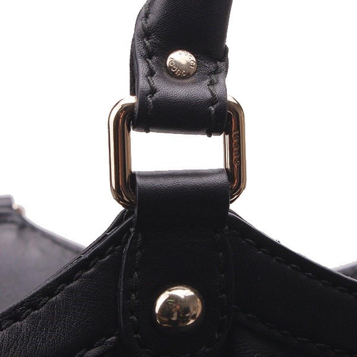 af2ee2f7fd2a Amazon.com: Gucci Sukey Guccissima Black Leather Large Tote Bag Handbag:  Shoes