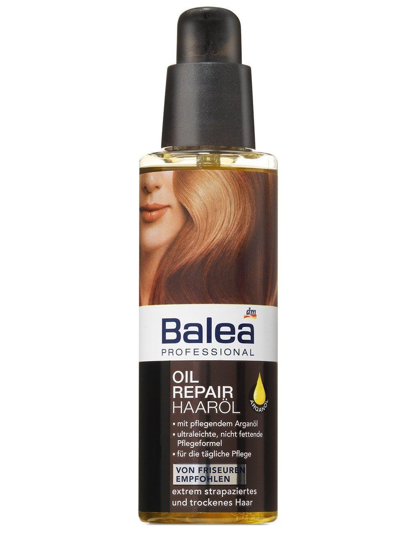 balea professional oil repair hair oil for severely