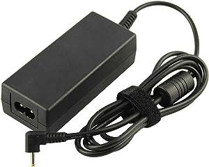 Futurebatt 40W AC Adapter Charger for Samsung 11.6 inch Chromebook 2 3 Xe500c13 xe303c12 xe500c12 Xe303c12-a01us xe500c13-k03us 303c 500c 503c Np930x2k PA-1250-98 Model Laptop Power Supply Cord