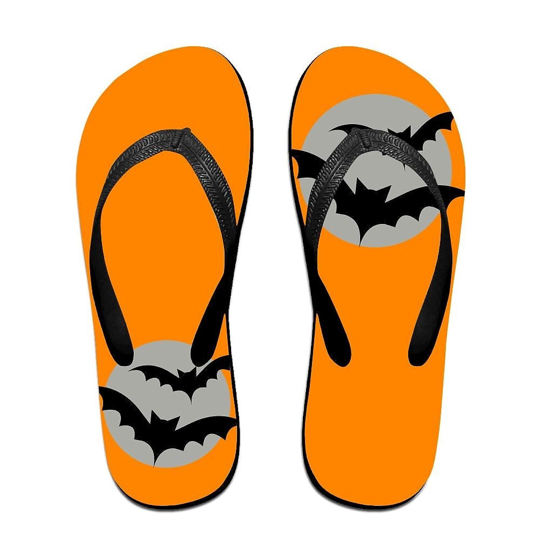 a05eaccd4 80%OFF QR FUNK Unisex Bat Flying Moon Summer Fashion Flip Flops Beach  Slippers
