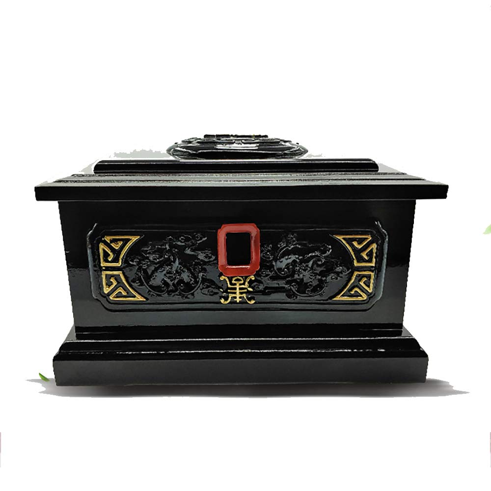 Pet Memorial Urn Casket Funeral and Burial Coffin for Dogs and Cats Peaceful Pet Keepsake Casket Suitable for Small and Medium Pets
