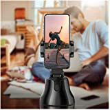 Portable All-in-one Smart Selfie Stick, 360 ° Rotates Automatic Face & Object Tracking Shooting Smartphone Mounting…