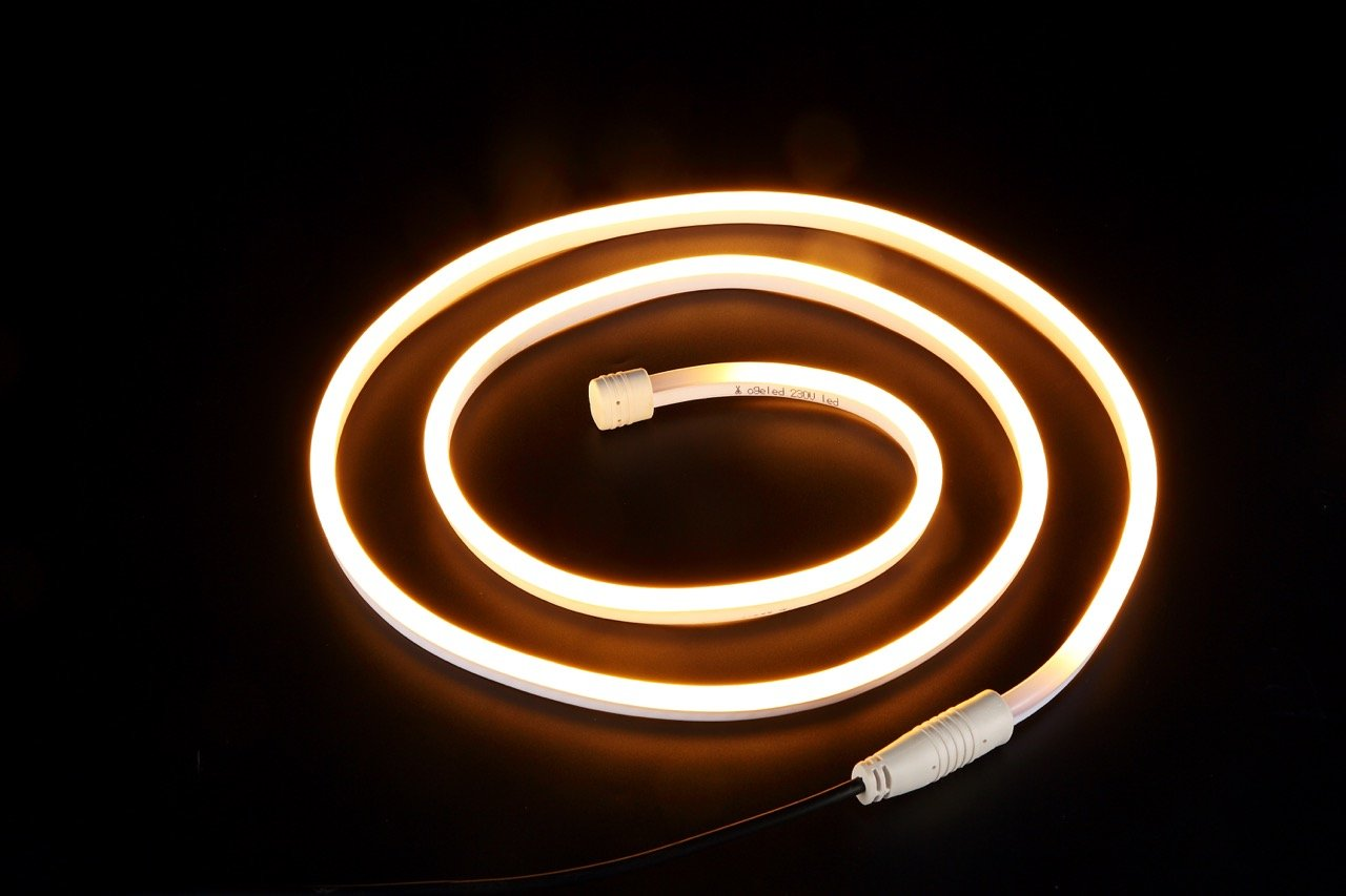 warmwei/ß 3000K, 28M Ogeled N120 Neon led strip Lichtband streife,diffus Lichtband je Meter 120LEDs 300Lumen 2835 leds wasserdicht Ip68