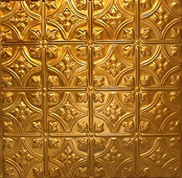 Vogue Premium Quality Copper Gold Glass Mixed Brick Pattern Mosaic Tile for Backsplash and Bathroom Wall Designed in Italy Box of 5 sq. ft.