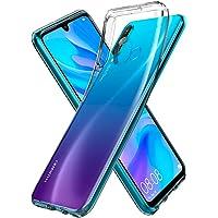 Spigen Liquid Crystal Serisi Kılıf Huawei P30 Lite ile Uyumlu/ 4 Tarafı Tam Koruma/Ekstra Koruma - Crystal Clear